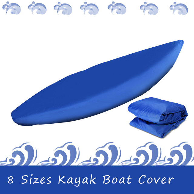 Professional Universal Boat Cover Kayak Canoe Boat Waterproof UV Resistant Dust Storage Cover Shield Cover for Inflatable Boat