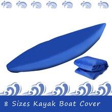 מקצועי אוניברסלי סירת כיסוי קיאק קאנו סירה עמיד למים UV עמיד אבק אחסון כיסוי מגן כיסוי עבור מתנפח סירה