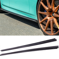 3 D Style Carbon fiber Side skirts Fit For BMW 5 Series F10 M Sport M5