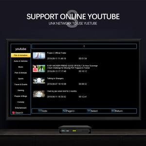 Image 5 - Satellite TV Receiver Decoder Tuner AV2018 Fully HD DVB S2 Receptor support NIT Search OTA FTP upgrade IKS BISS Youtube TV BOX