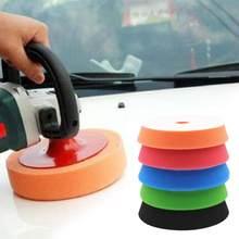 Juego de almohadillas de pulido para coche, herramientas eléctricas, accesorios de taladro de espuma de 15cm y 6 pulgadas, 5 uds.