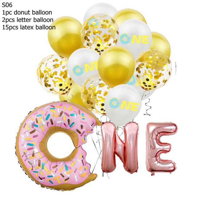 16Inch-Birthday-Party-Balloons-Rose-Gold-Two-Sweet-Donut-2-Years-Old-Aluminum-Foil-Balloons-For.jpg_640x640