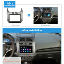 Harfey Car Radio 2Din Fascia Trim Kit Plate Cover Mount for GM CHEVROLET COBALT 2016 2017 OEM Panel Installation in Dash Bezel(China)