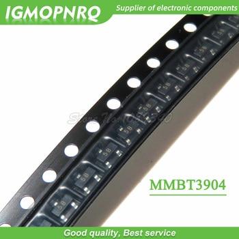 100pcs mmbt3904lt1g 1 am mmbt3904 2n3904 3904 SOT23-3 0.2a npn 트랜지스터 바이폴라 트랜지스터-bjt new original