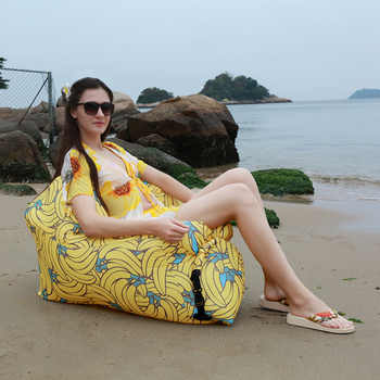 Portable Inflatable Sofa Outdoor Air Sofa Lounger Waterproof Lazy Sofa Inflatable Chair for Camping Beach Garden Home Furniture - DISCOUNT ITEM  53 OFF Furniture