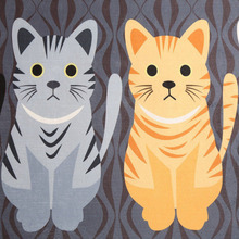 Cat Printed Floor Mats