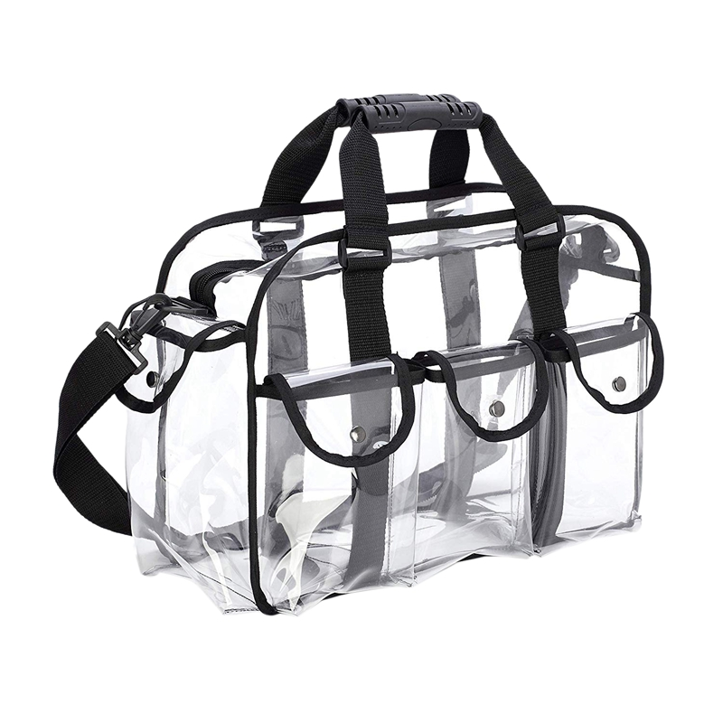 Clear Travel Makeup Bag Shoulder Strap Adjustable For Women Men, Travel, Beach
