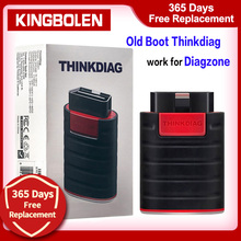 Thinkcar Thinkdiag Diagzone Old Boot V1.23.004 Full Software 1 Year Free OBD2 Code Reader Bluetooth Scanner Tool Launch Easydiag