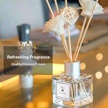 50 мл стеклянные флаконы Рид диффузор палочки освежитель воздуха Эфирное масло беспламенный ароматерапия домашний ароматизатор парфюм набор домашний парфюм