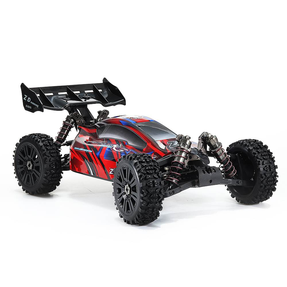 ZD s3 BX-8E 1/8 4WD Brushless 2.4G RC <font><b>Car</b></font> Frame Electric Vehicle Aluminum Alloy PVC Material <font><b>Car</b></font> Shell Toys Model image