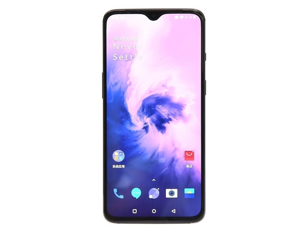 "Original New Oneplus 7 12GB 256GB Mobile Phone 6.41"" AMOLED Display Octa Core Snapdragon 855 3700mAh NFC 48MP+16MP Cameras phone"