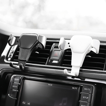 цена на Car Air Vent Mount Cradle Holder Stand For iPhone Mobile Cell Phone GPS Black/White