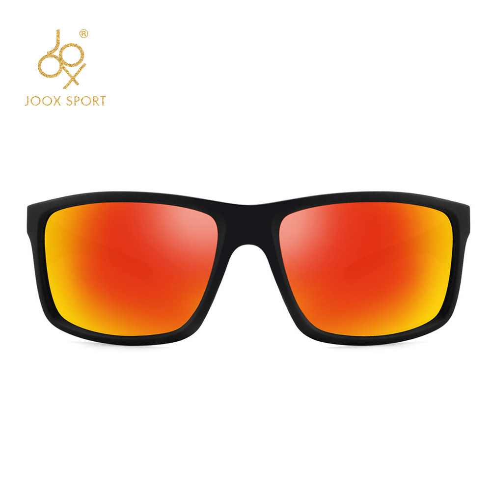Image 4 - 2019 New Men Polarized Sunglasses 1.1mm Thicken Lens Fashion Brand Outdoor Sunglasses for Men Elastic Rubber Paint Smooth Frame-in Men's Sunglasses from Apparel Accessories on AliExpress