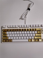 Mechanical keys modifier cherry mx OEM  LOL CS GO gaming metal keycap golden caps 37 keys