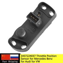 Датчик положения дроссельной заслонки 3437224037 TPS для VW Passat Jetta для AUDI A6 80 для Mercedes-Benz W124 W126 W201 3-437-224-037