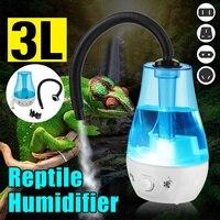 3L Large Capacity Amphibians Reptile Humidifier Fogger Vaporizer Fog Maker 100 240V Dropshipping