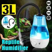 3L Large Capacity Amphibians Reptile Humidifier Fogger Vaporizer Fog Maker 100-240V Dropshipping
