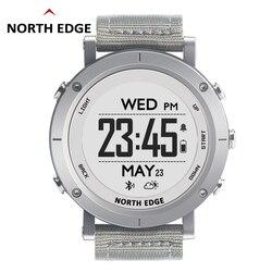 NORTHEDGE цифровые часы для мужчин спортивные часы gps погода высота барометр термометр компас сердечного ритма погружение Пешие прогулки часы