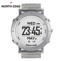 NORTHEDGE digital watches Men sports watch clock GPS Weather Altitude Barometer Thermometer Compass Heart Rate Dive hiking hours