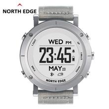 Купить с кэшбэком NORTHEDGE digital watches Men sports watch clock fishing Weather Altimeter Barometer Thermometer Compass Altitude hiking hours