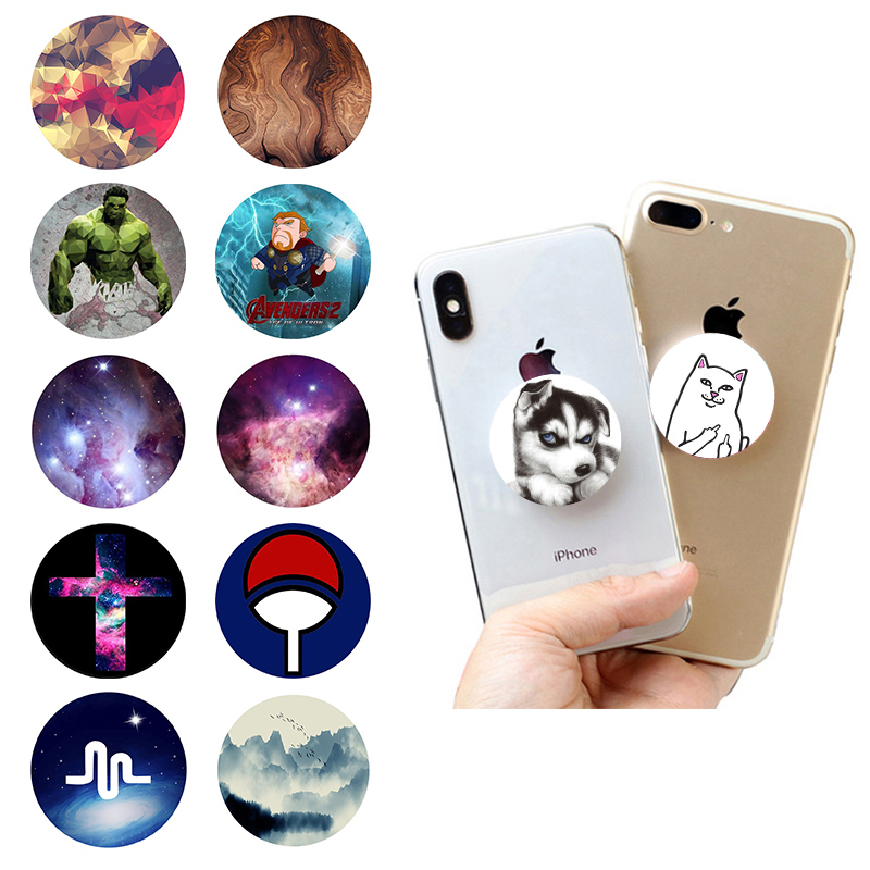 popsoket Mobile Phone Holder попсокет Round Finger Ring Stand Phone Stand Gadgets pocket socket Tablets Grip Expanding popsocet