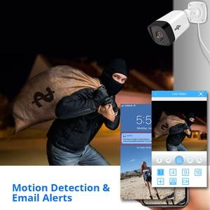 Image 5 - Hiseeu 8CH 1080P POE NVR CCTV система безопасности 4 шт. 2.0MP аудио запись IP камера ИК P2P комплект наружного видеонаблюдения 1 ТБ HDD