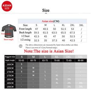 Image 5 - Koszulka rowerowa Santic TOP 2019 nowa męska koszulka Pro Team MTB Road Bike oddychająca szybkoschnąca koszulka na rower Ropa Ciclismo