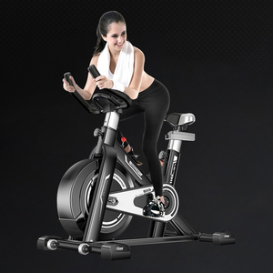 Image 1 - Exercise bike home ultra quiet indoor weight loss pedal exercise bike spinning bicycle fitness equipment