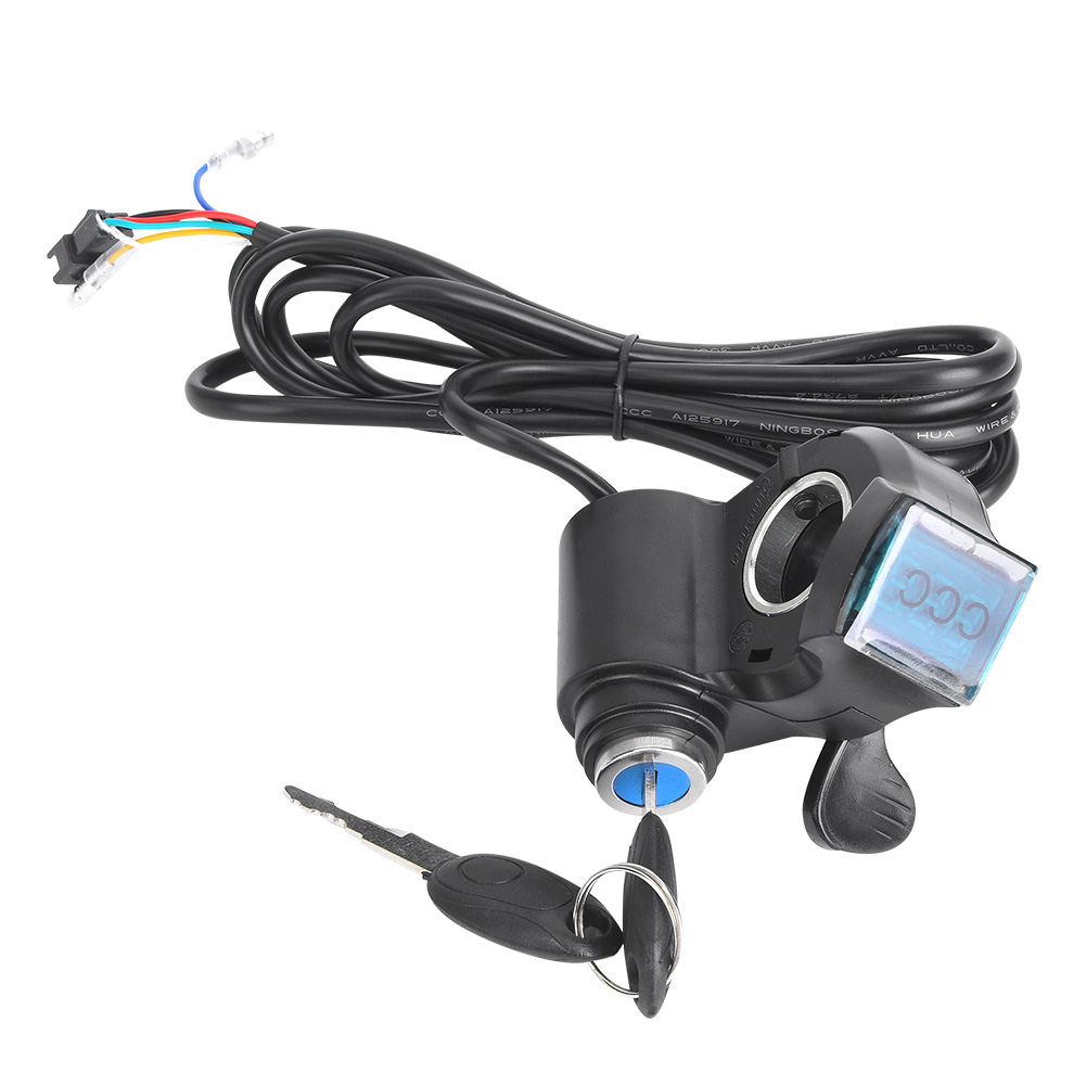 Digital Tensão Da Bateria Interruptor de Velocidade