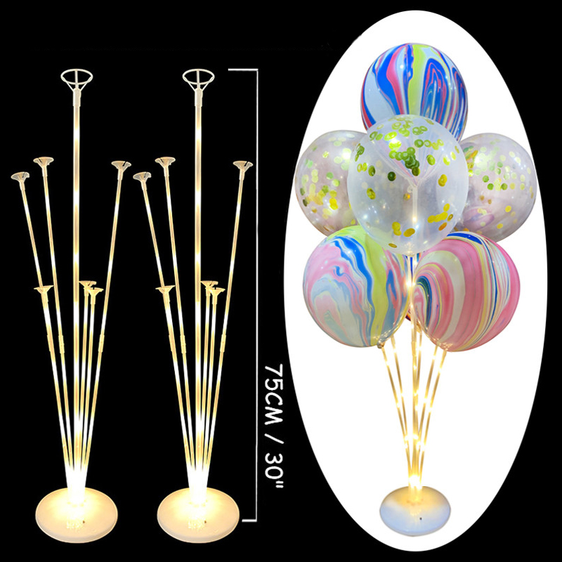 Balloons Stand Holder Column Confetti Baby Shower Kids Party Decoration Supplies