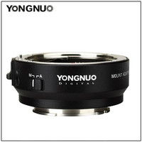 Yongnuo EF E II Smart auto focus Mount adapter ring for Canon EF EOS Mount lens to Sony NEX E Mount A9 A7 II A7RIII A7SII A6500