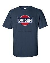 Datsun marinha logotipo retro camiseta 240z 260z 280z zx 510 fairlady clássico S-5XL