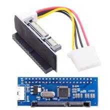 IDE/PATA 40Pin Disk to SATA Female Converter Adapter PCBA for Desktop & 3.5
