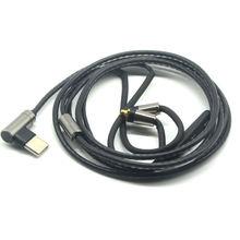 Сменный кабель для наушников с разъемом type c 35 мм mmcx аудиокабель