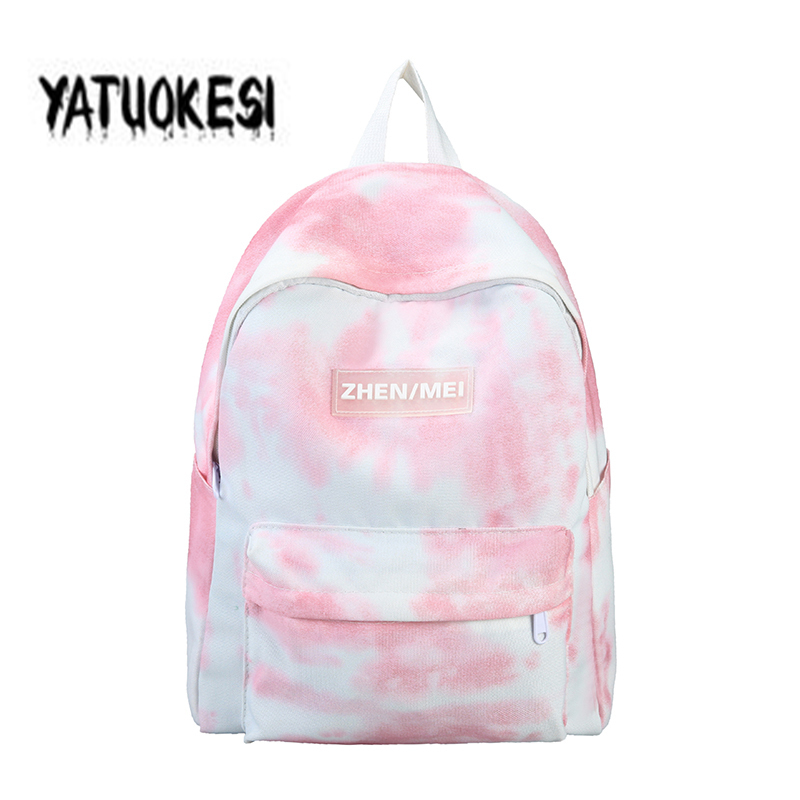 YATUOKESI Original Spray-printed Bag Junior High  School Bags For Teenager Boys Girls Multi-Function Laptop Backpack Travel Bag