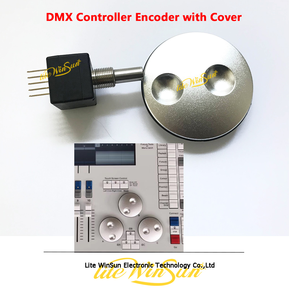 DMX Controller Parts Tiger Console Touch Encoder Button DMX512 Control Accessories