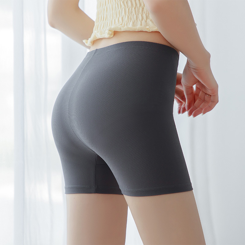 Sexy Women Cotton High Waist Elastic Pure Color Slim Knee-Length Bikeshorts Leggings Female Plus Size Women Leggings