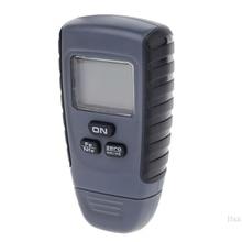 RM660 Цифровой автомобиль краски покрытие толщиномер Авто прибор для измерения ширины 0-1,25 мм