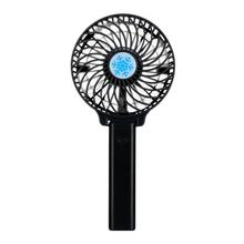 Mini Handheld Personal Portable Foldable USB Rechargeable Battery Operated Electric Fan Desktop Cooling Fan unique led love pattern handheld mini fan super mute battery operated for cooling cute