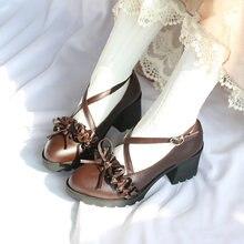 Новинка 2020 года; Обувь Лолиты в японском стиле; Женская обувь