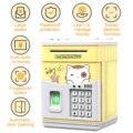 Электронная Копилка Мультфильм имитация Банкомат монета может автоматически Банк сбережений денег с паролем для детей, для мальчиков, пода...