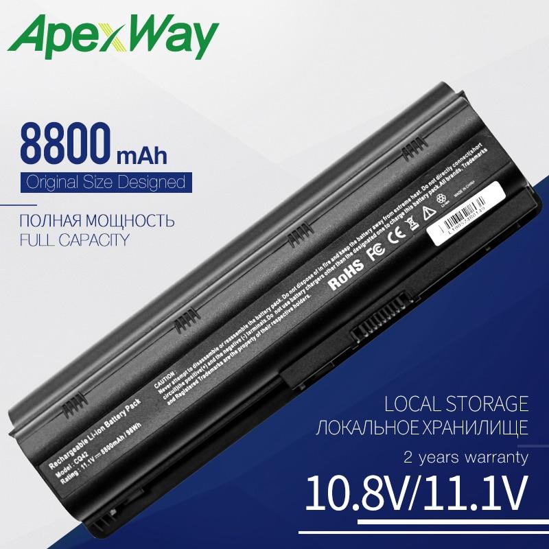 8800 MAh Battery For HP MU06 For Compaq Presario CQ32 CQ42 CQ43 CQ56 CQ62 CQ630 CQ72 For Pavilion Dm4 Dv3 Dv5 Dv6 Dv7 G4 G6 G7