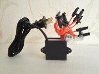 Purificador de ar negativo pequeno do gerador 220 v do íon do oxigênio do tamanho da partícula Peças p ar condicionado     -