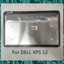 """12,"""" LP125WF1 SP A2 A3 A1 SP E3 сенсорный ЖК-экран для Dell XPS 12 9Q23 9Q33 светодиодный в сборе 1920*1080 FHD полностью протестирован"""