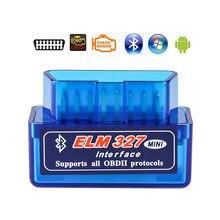 Elm327 bluetooth v1.5 obd2 ferramenta de diagnóstico do carro para lada kalina priora niva vaz granta samara 2110 2114 largus 2109 2115 2112