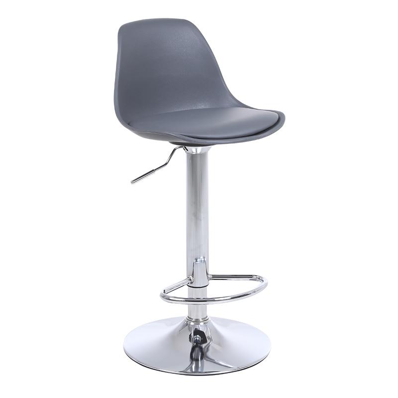 Plastic Bar Chair Lift Chair Modern Minimalist High Stool Backrest Home Bar Stool Front Desk Cash Register Bar Chair