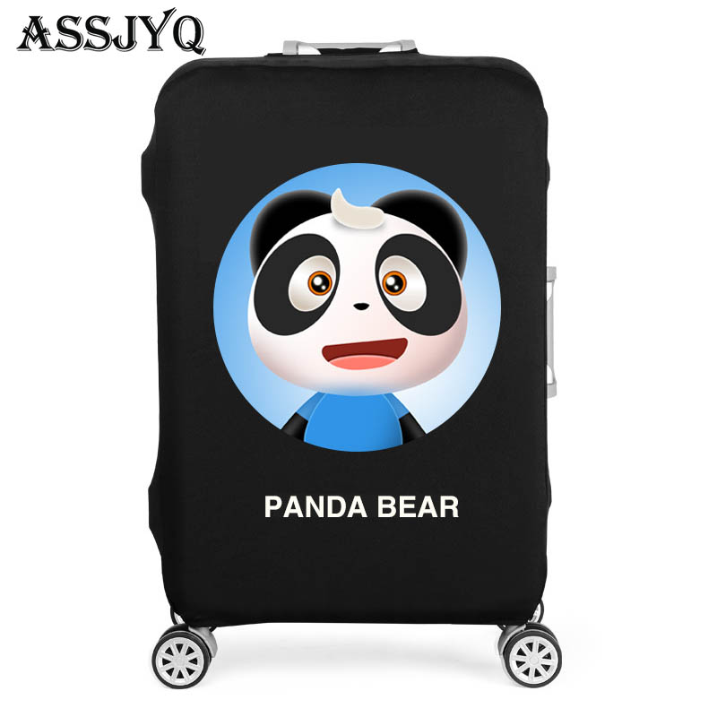 Thickened Elastic Luggage Cover Travel Luggage Dust Cover Suitable For 18-32 Inch Trolley Luggage Travel Accessories