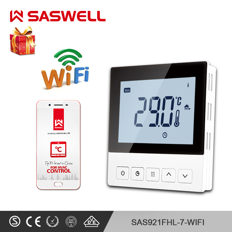 SASWELL WIFI Thermostat  Temperature Controller For Room Water Underfloor Heating Intelligent Thermoregulator