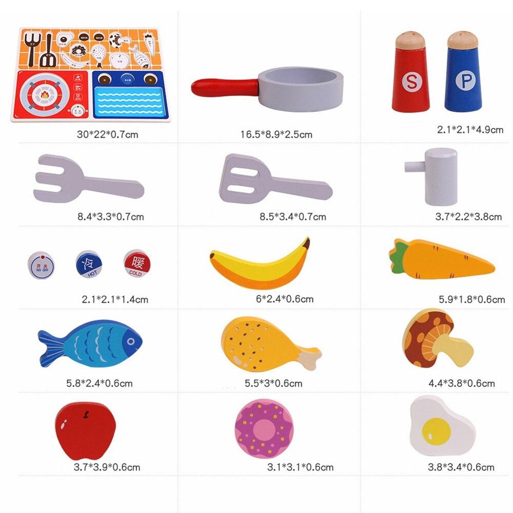 cortar legumes peixe cozinhar brinquedos de cozinha 05