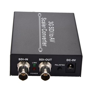 Planning Of Support Signal And Signal Conversion For Simultaneous Display Sdi And Av Signals Sdi To Av And SDI Converter
